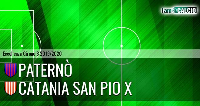 Paternò - Catania San Pio X