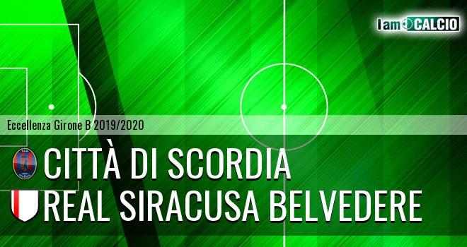 Città di Scordia - Real Siracusa Belvedere