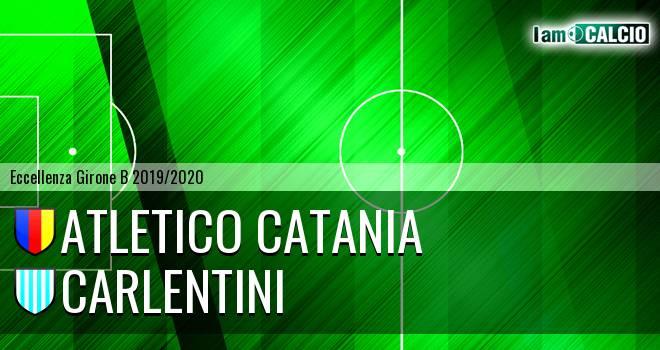 Atletico Catania - Carlentini