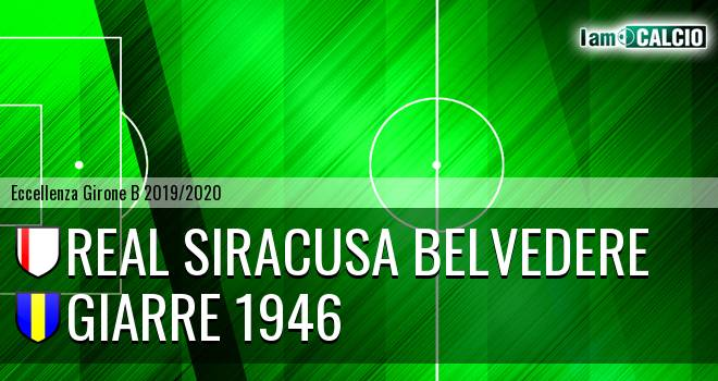 Real Siracusa Belvedere - Giarre 1946