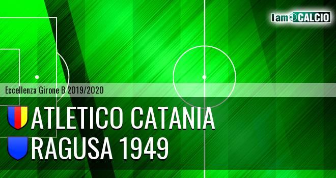 Atletico Catania - Ragusa 1949
