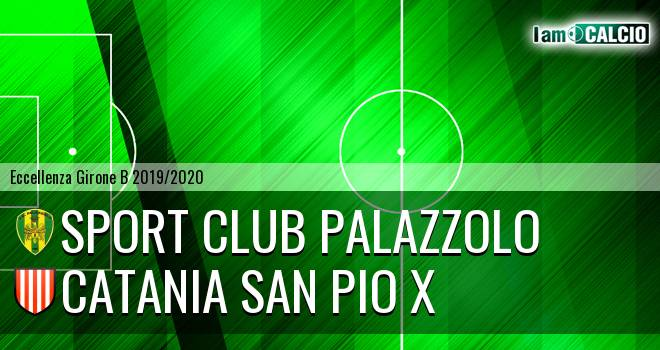 Sport Club Palazzolo - Catania San Pio X