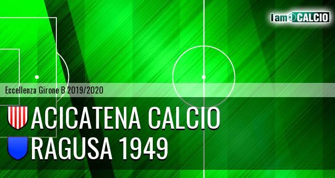 Acicatena Calcio - Ragusa 1949