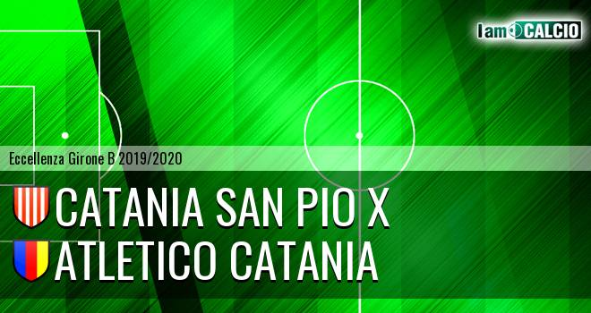 Catania San Pio X - Atletico Catania