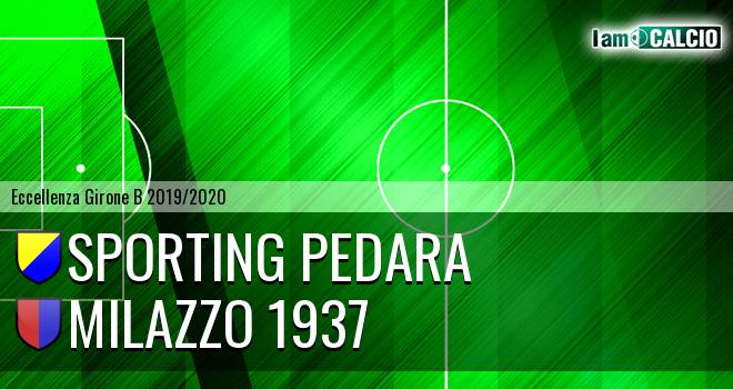 Sporting Pedara - Milazzo 1937