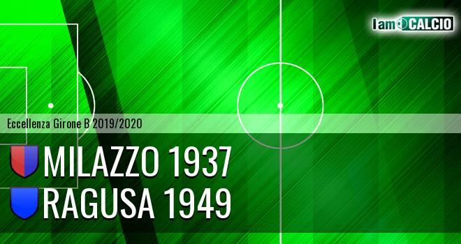 Milazzo 1937 - Ragusa 1949