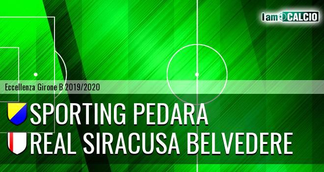 Sporting Pedara - Real Siracusa Belvedere