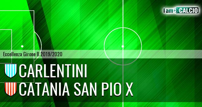 Carlentini - Catania San Pio X