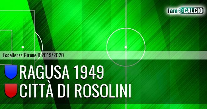 Ragusa 1949 - Città di Rosolini