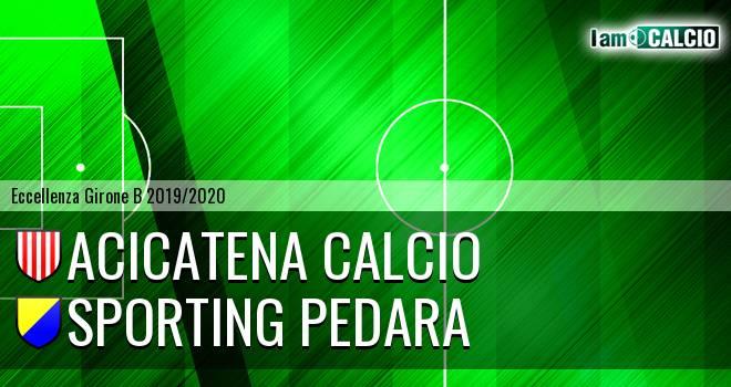 Acicatena Calcio - Sporting Pedara