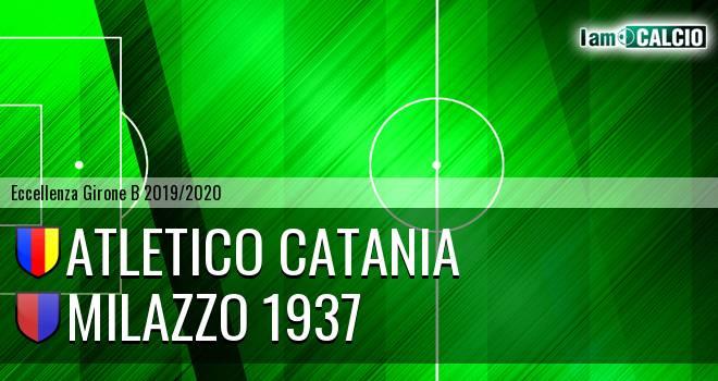 Atletico Catania - Milazzo 1937