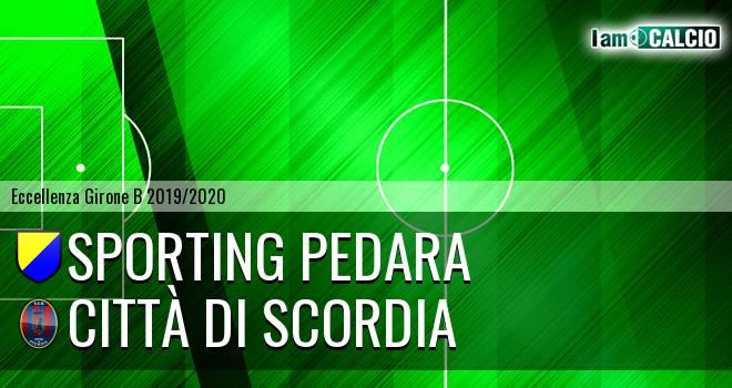 Sporting Pedara - Città di Scordia