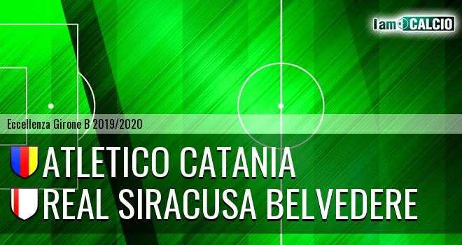 Atletico Catania - Real Siracusa Belvedere