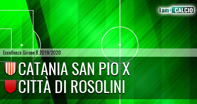 Catania San Pio X - Città di Rosolini