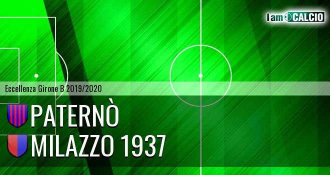 Paternò - Milazzo 1937