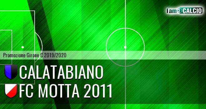 Calatabiano - FC Motta 2011