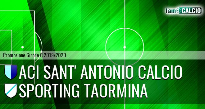 Aci Sant' Antonio Calcio - Sporting Taormina
