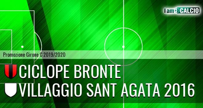 Ciclope Bronte - Villaggio Sant Agata 2016