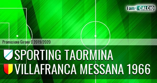 Sporting Taormina - Villafranca Messana 1966