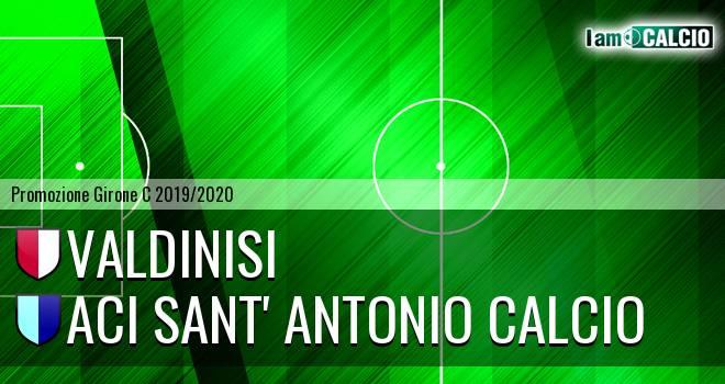Valdinisi - Aci Sant' Antonio Calcio
