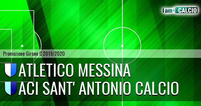 Atletico Messina - Aci Sant' Antonio Calcio