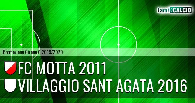 FC Motta 2011 - Villaggio Sant Agata 2016