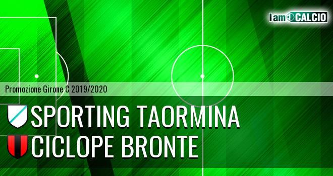 Sporting Taormina - Ciclope Bronte