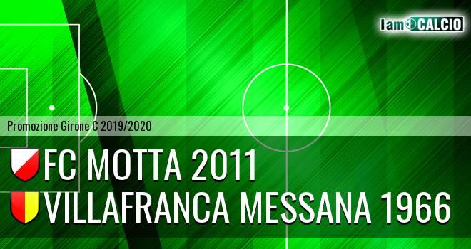 FC Motta 2011 - Villafranca Messana 1966