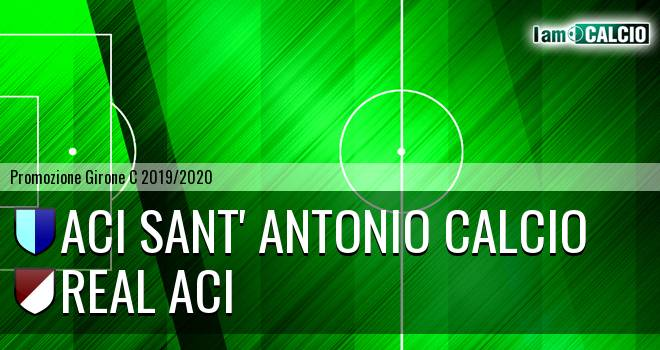 Aci Sant' Antonio Calcio - Real Aci