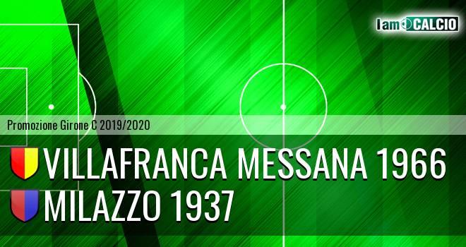 Villafranca Messana 1966 - Milazzo 1937