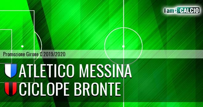 Atletico Messina - Ciclope Bronte