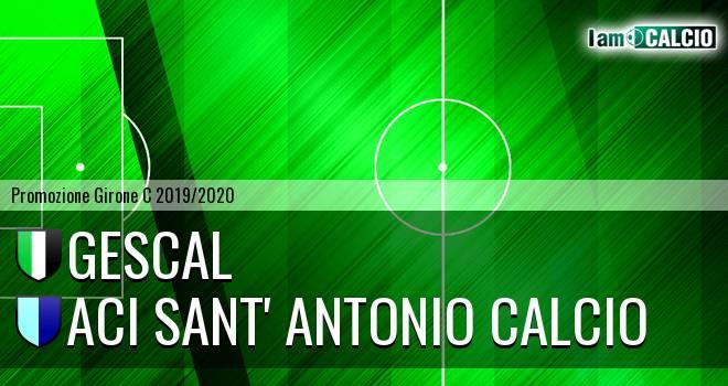 Gescal - Aci Sant' Antonio Calcio