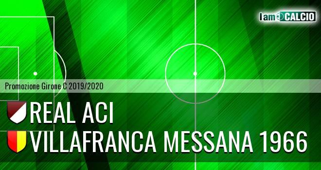 Real Aci - Villafranca Messana 1966