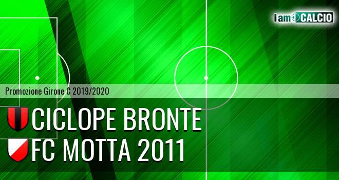 Ciclope Bronte - FC Motta 2011