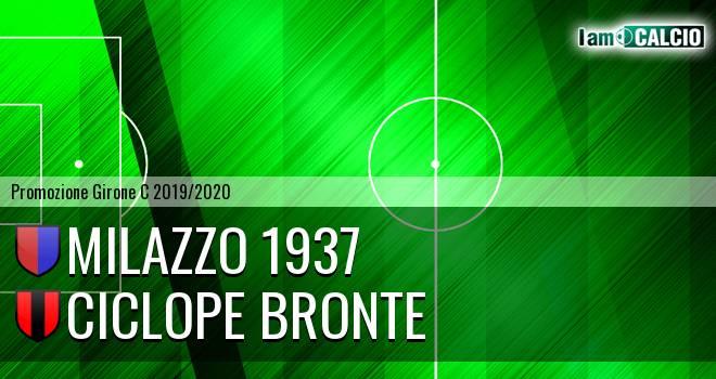 Milazzo 1937 - Ciclope Bronte