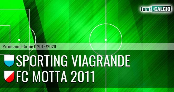 Sporting Viagrande - FC Motta 2011