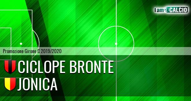 Ciclope Bronte - Jonica