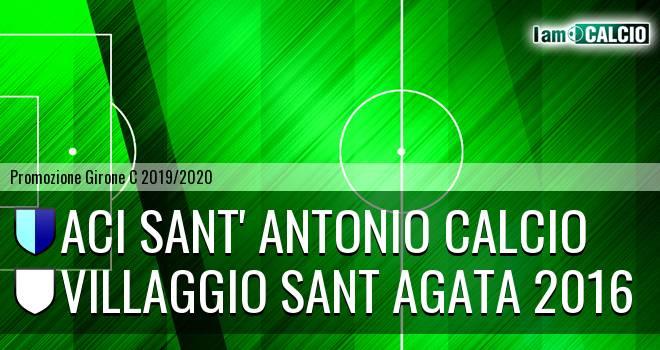 Aci Sant' Antonio Calcio - Villaggio Sant Agata 2016
