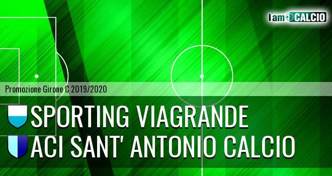 Sporting Viagrande - Aci Sant' Antonio Calcio