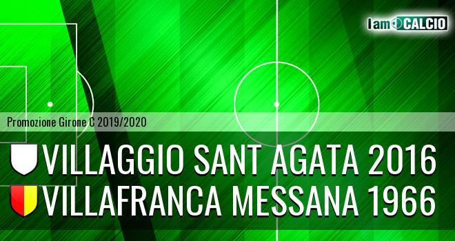 Villaggio Sant Agata 2016 - Villafranca Messana 1966