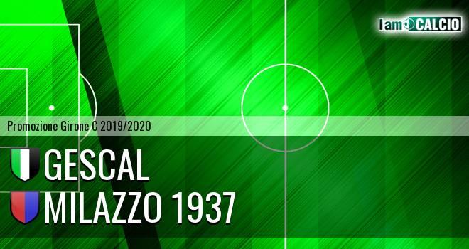 Gescal - Milazzo 1937