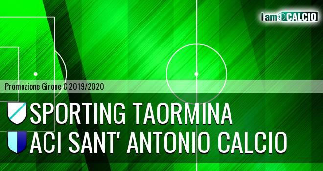 Sporting Taormina - Aci Sant' Antonio Calcio