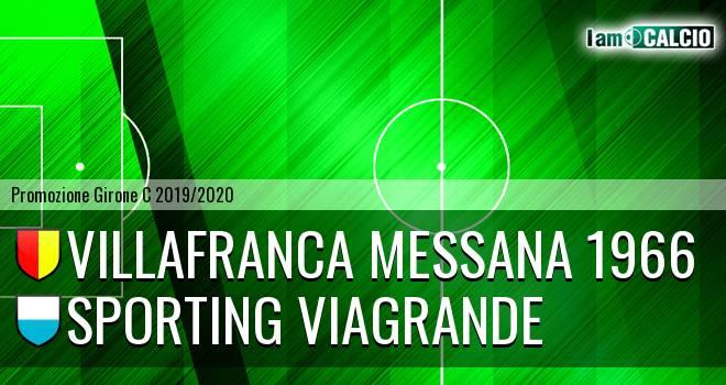 Villafranca Messana 1966 - Sporting Viagrande