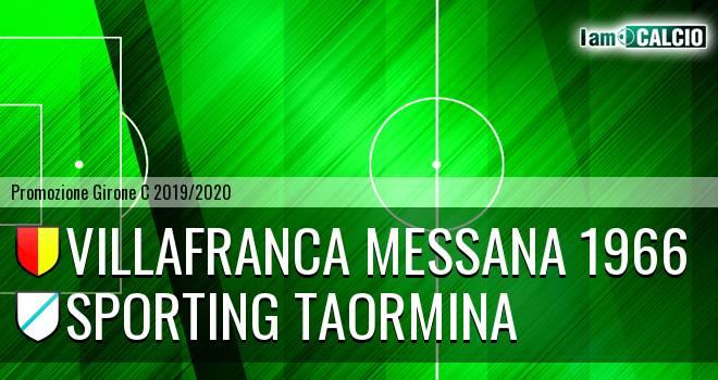 Villafranca Messana 1966 - Sporting Taormina