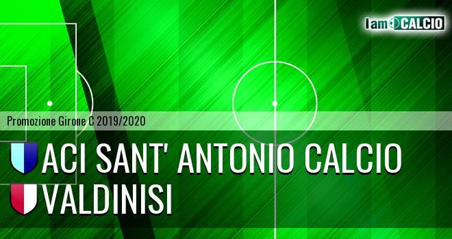 Aci Sant' Antonio Calcio - Valdinisi