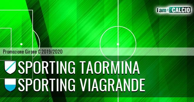 Sporting Taormina - Sporting Viagrande