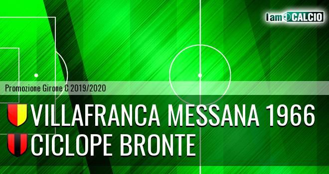 Villafranca Messana 1966 - Ciclope Bronte