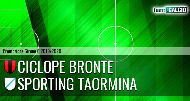 Ciclope Bronte - Sporting Taormina