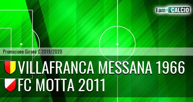 Villafranca Messana 1966 - FC Motta 2011