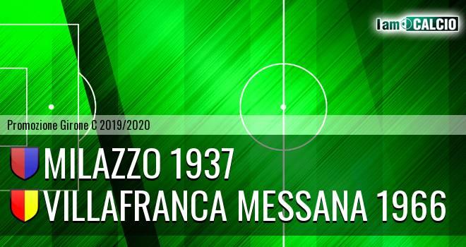 Milazzo 1937 - Villafranca Messana 1966